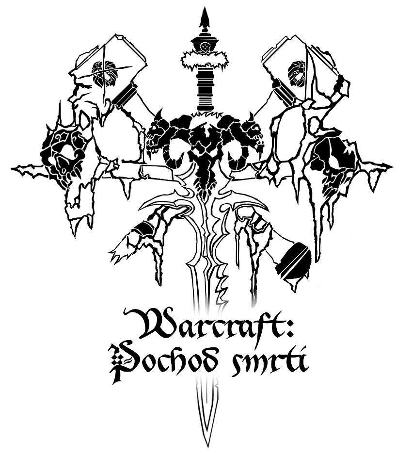 Logo LARPové akce Warcraft: Pochod smrti